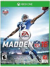 Madden NFL 16 (Microsoft Xbox One) - BRAND NEW - FREE SHIPPING™