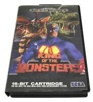 King of The Monsters Sega Mega Drive PAL *No Manual*