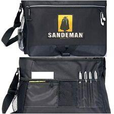 Men Classic Large Messenger Shoulder Bag Bike Cycling School Laptop Work Black