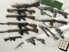 Vintage Action Man Large Lot of Weapons (some German)