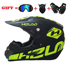 2019 neue Flip Up Motorrad Helm Kinder Motorcross Off Road Helm ATV Dirt Bike