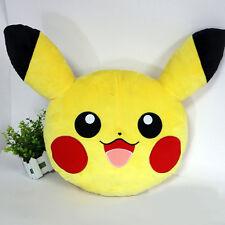 35cm Yellow Pokemon Pikachu Pillow Cushion Soft Toys Stuffed Plush Dolls Gifts