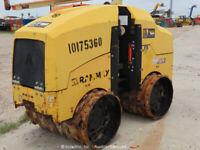 """2013 Ammann Rammax 1575 34"""" Trench Roller Compactor Walk Behind Wireless bidadoo"""
