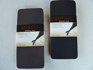 Kunert Ladies Sensual Silk Stockings With Finest Silk Xs S M L XL Opaque