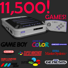 SD card for Retron 5 loaded with over 11,500 games! Plug in and ready to play!!!