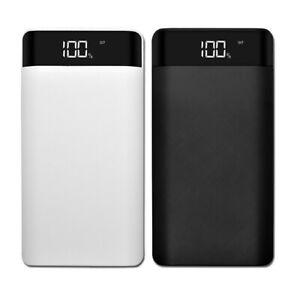 20000mAh Backup Externe Batterie Dual USB Power Bank Pack Ladegerät für Handy