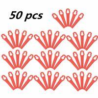 50pcs Plastic Trimmer Blades For ART26LI Accutrim Easy Trim Accu Strimmer ! /