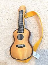 Build A Bear Workshop Plush Guitar To Attach To Plush Animal Gold Brown