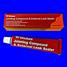 WICKES JOINTING COMPOUND EXTERNAL LEAK SEALER JOINT SEALING PLUMBING/PLUMBERS