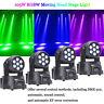 U`King 4PCS 105W moving head beam light DMX 512 DJ Disco Party auto stage lights