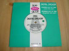 "DIGITAL ORGASM-RUNNING OUT OF TIME(DEAD DEAD GOOD ANTLER 7"")  ALTERNATIVE SLEEVE"