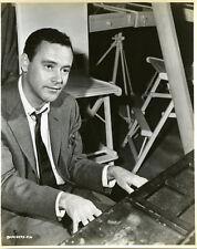 Jack Lemmon iconic on set playing piano early 1960 original photo
