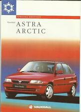 VAUXHALL ASTRA ARCTIC SPECIAL EDITION INC. ESTATE  SALES BROCHURE 1997