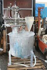 Stainless 330L recirculation paint pot tank vessel reactor system Binks Graco