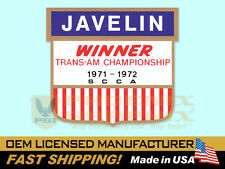 1973 AMC American Motors Javelin Trans Am Victory Fender Decals Kit