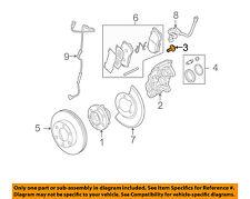 Hummer GM OEM 06-10 H3 Brake-Front-Caliper Bolt 15098000