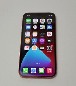 Apple iPhone 12 (PRODUCT)RED - 64GB (AT&T) Cracked Front and Back Glass