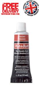 Rub n Buff Original Metallic Gilding Permanent Wax Leather Wood - Ebony