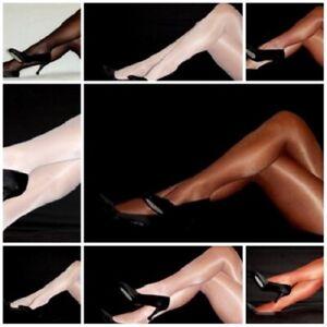 PEAVEY Dress TIGHTS SHINY SEXY HIGH GLOSS Hooters Uniform 40 Denier Sheer Women