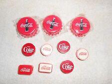 Coca-Cola Pencil Sharpeners--Lot of 10-Assorted