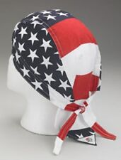 6 New Doo Rag Rags American Flag Usa Flag Us Flag 100% Cotton Free Shipping