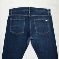 Mens ARMANI EXCHANGE Super skinny SELVEDGE Jeans Size W34 L30 Stretch denim