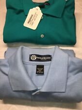 Smith /& Wesson Racing Button Front Pocket Logo Embroidered Shirt Blue M S//S