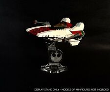 Display stand angled for Lego 6207-75003 - A-wing fighter