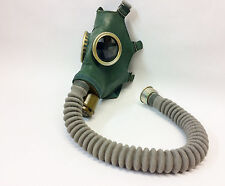 Soviet russian Green gas mask GP-4 SIZE 1 SMALL with hose