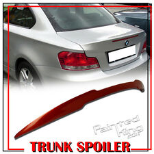 Painted For BMW 1 Series E82 M4-Style Rear Trunk Spoiler Wing 07-13