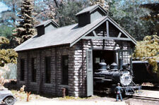 O ,On30 ,On3 ,BIG SPRINGS ENGINE HOUSE   ,Resin building kit ,brand new reissue