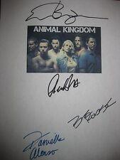 Animal Kingdom Signed TV Script Ellen Barkin Shawn Hatosy Ben Robson Alonso RPNT