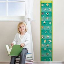WALLPOPS ALPHABET GROWTH CHART CHILDRENS BEDROOM WALL GROWTH CHART NEW FREE P+P