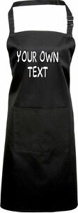 PERSONALISED APRON YOUR OWN TEXT FUNNY GIFT