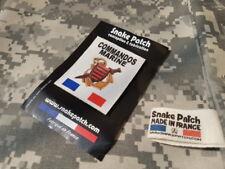SNAKE PATCH - COMMANDOS MARINE DE PENFENTENYO - marine nationale COS