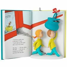 Dr. Seuss's What Pet Should I Get? 2017 Hallmark Ornament Story Book  In Stock