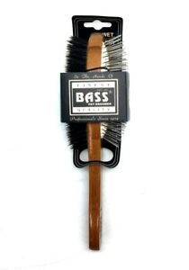 Bass Brushes Double Sided 100-Percent Boar Bristle/ Wire Pin Pet Brush Pro Groom