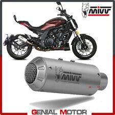 Mivv Exhaust Muffler MK3 Inox kat for BENELLI 502C 2019 > 2020