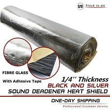 Best Sound Deadener Heat Insulation Noise & Thermal Blocker Matting 1/4''T
