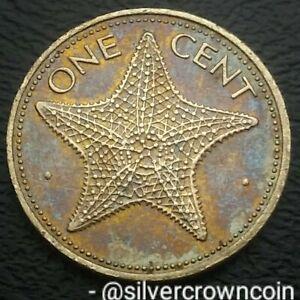 Bahama Islands 1 Cent 1981. KM#59. One Penny Coin. Starfish. Bahamas 🌟