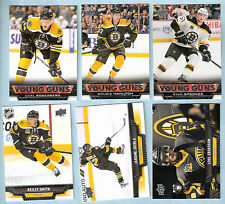 2013-14 Upper Deck UD Boston Bruins Team Set (19 w/ 3  RC's)