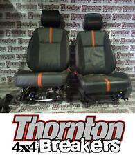 2015 FORD RANGER WILDTRACK 4X4 DCAB FRONT & REAR LEATHER SEATS