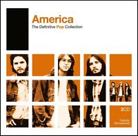 AMERICA (2 CD) THE DEFINITIVE POP COLLECTION D/Remaster CD 70's *NEW*