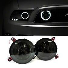 2005-2009 Ford Mustang GT Hood Grille Smoke Halo Fog Lights Lamps Pair+Switch