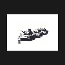 Banksy - Golf Sale Tanks - Print / Poster - Wall Art Decor - A5 A4 A3