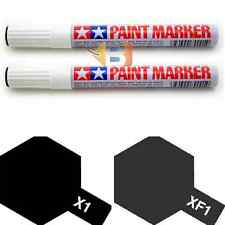 Tamiya Flat Black Paint Marker X1 XF1 89001 89301 for Hobby Model Pen Tool Combo