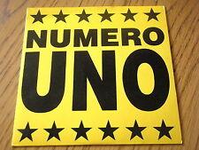 """STARLIGHT - NUMERO UNO  7"""" VINYL PS"""