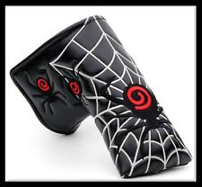 SPIDER BLADE Putter Head cover for Scotty Cameron, Bettinardi, Ping, Nike, BLACK
