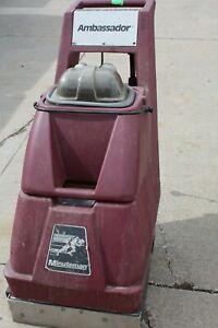 Minuteman Ambassador Walk Behind Commercial Carpet Floor Cleaner Extractor