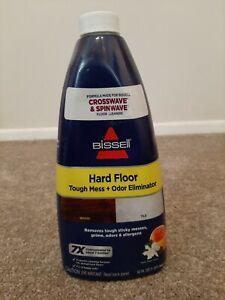 1 NEW bottle BISSELL Hard Floor Tough Mess Odor Eliminator Cleaner 32 fl oz